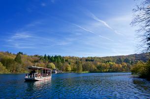 プリトヴィッツェ湖群国立公園の写真素材 [FYI03878849]