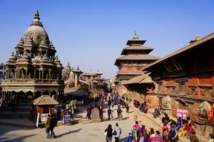 ヒマラヤ パタンの街の写真素材 [FYI03878901]