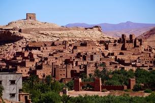 モロッコ アイトベンハッドウ 世界遺産の写真素材 [FYI03879059]