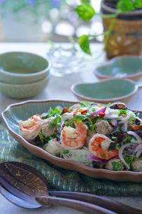 ヤムウンセン 春雨のサラダ タイ料理の写真素材 [FYI03879120]