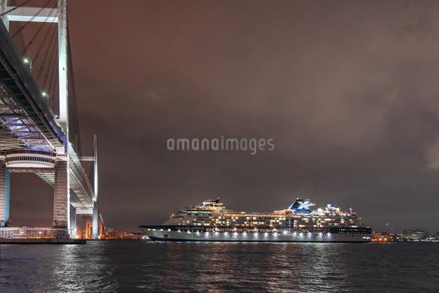 セレブリティーミレニアムの出港の写真素材 [FYI03879152]