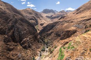 ペルーのマルカ近郊の風景の写真素材 [FYI03879261]