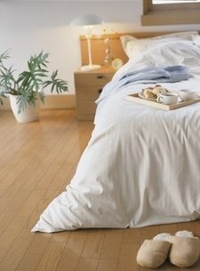 寝室の写真素材 [FYI03879651]