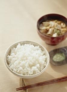 ご飯と味噌汁の写真素材 [FYI03880704]