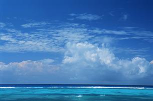 sugar dockからの海と空の写真素材 [FYI03881422]