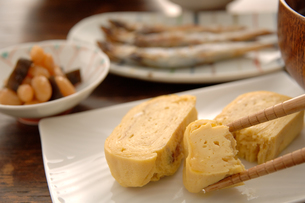 たまご焼きと朝食の写真素材 [FYI03881448]