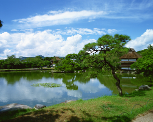 衆楽園 岡山県の写真素材 [FYI03881553]