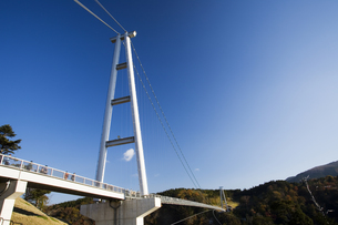九重夢大吊橋の写真素材 [FYI03881901]