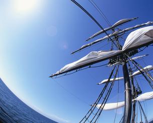古い帆船の写真素材 [FYI03881974]