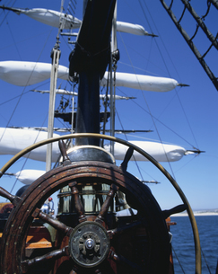 古い帆船の写真素材 [FYI03881980]