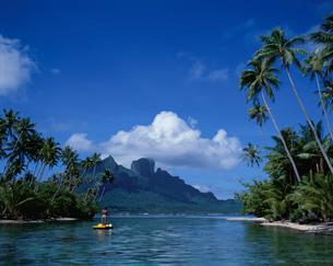 タヒチのボラボラ島の写真素材 [FYI03882564]