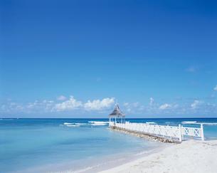 ジャマイカのハーフムーンビーチの写真素材 [FYI03882586]