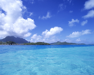 ボラボラ島の写真素材 [FYI03883093]
