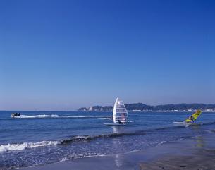 材木座海岸の写真素材 [FYI03883323]