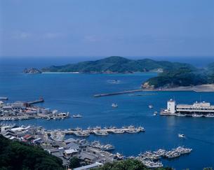 勝本港 長崎県の写真素材 [FYI03883535]
