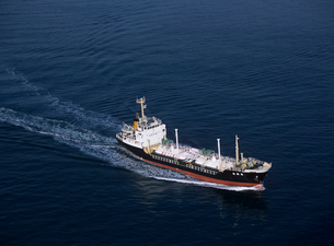 小型タンカー 瀬戸内海の写真素材 [FYI03883795]