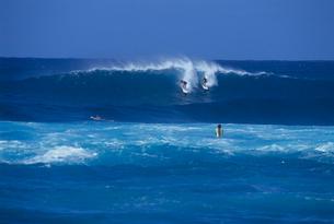 サーフィン ハワイの写真素材 [FYI03883826]