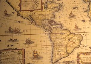 古い地図の写真素材 [FYI03884472]