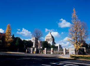 国会議事堂 衆議院門の写真素材 [FYI03886364]