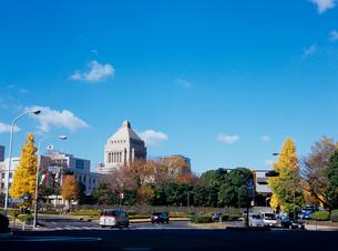 国会議事堂の写真素材 [FYI03886370]