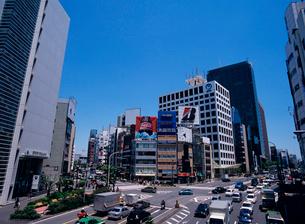 外苑前より青山1丁目方面を見る 東京都の写真素材 [FYI03886573]