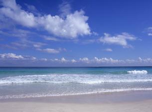 ビーチの波の写真素材 [FYI03887020]