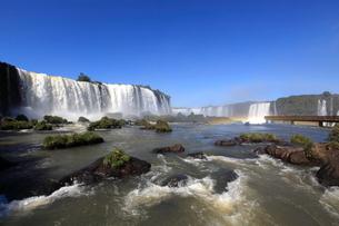 イグアスの滝の写真素材 [FYI03887674]