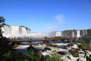 イグアスの滝の写真素材 [FYI03887675]