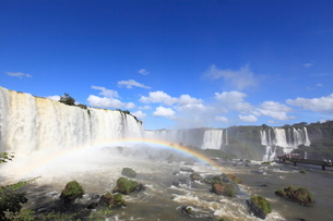 イグアスの滝の写真素材 [FYI03887681]