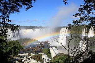 イグアスの滝の写真素材 [FYI03887687]