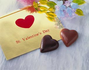 バレンタインチョコレートの写真素材 [FYI03887940]