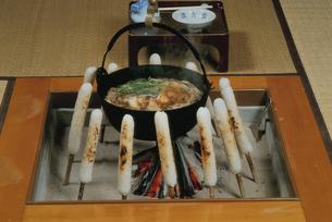 きりたんぽ鍋の写真素材 [FYI03893798]