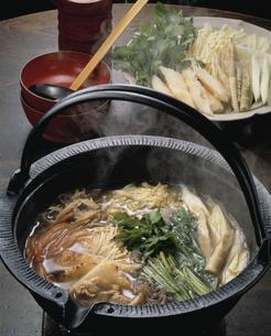 きりたんぽ鍋の写真素材 [FYI03893842]