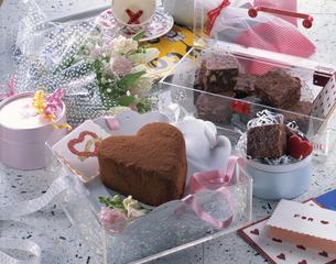 チョコレートケーキの写真素材 [FYI03896525]