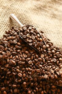 コーヒー豆の写真素材 [FYI03897201]