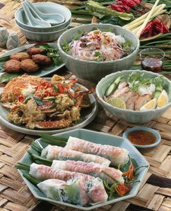 タイ料理集合の写真素材 [FYI03897460]