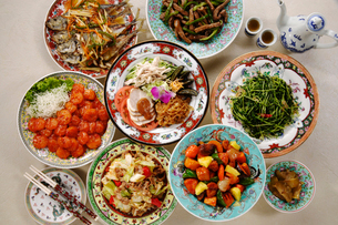 中華料理の写真素材 [FYI03899714]