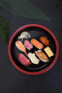 握り寿司の写真素材 [FYI03910957]