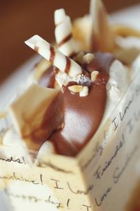 キャラメルケーキの写真素材 [FYI03913611]