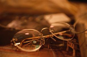 眼鏡の写真素材 [FYI03913825]