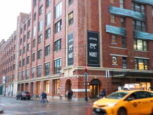 ニューヨークのマーケットの写真素材 [FYI03913942]