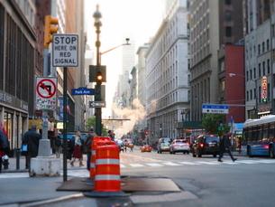 ニューヨークのアベニューの写真素材 [FYI03913945]
