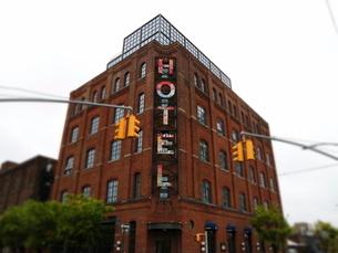 ブルックリンのホテルの写真素材 [FYI03913947]