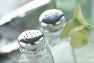 胡椒と塩の入れ物の写真素材 [FYI03914836]