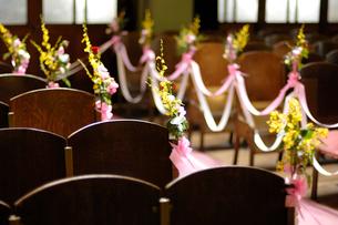 結婚式の飾りつけの写真素材 [FYI03917113]