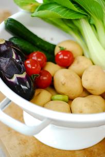 ボウルの中の野菜の写真素材 [FYI03917199]