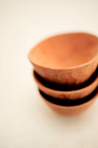 木の器の写真素材 [FYI03917233]