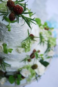 ウエディングケーキの写真素材 [FYI03917614]