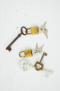 鍵の写真素材 [FYI03917723]