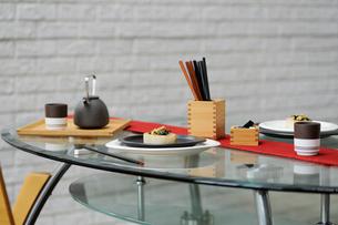 テーブルセットの写真素材 [FYI03918099]